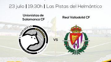 PRETEMPORADA   Unionistas de Salamanca recibirá al Real Valladolid en un amistoso de preparación