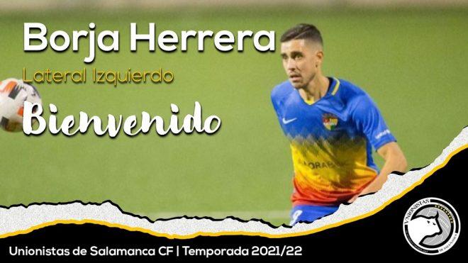 PLANTILLA   Borja Herrera, nuevo jugador de Unionistas de Salamanca