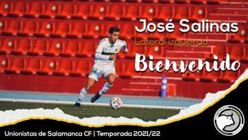 PLANTILLA | El defensor José Salinas, décimo refuerzo de la temporada