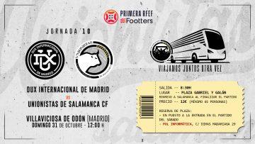 VIAJE   La FPU organiza desplazamiento en autobús a Villaviciosa de Odón (domingo 31)